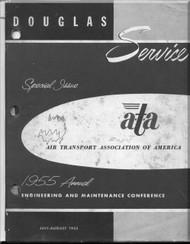 Douglas  Aircraft Service Digest  -  July - August - 1955