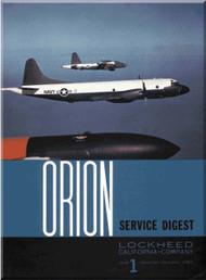 Lockheed Orion  Aircraft Service Digest  - 1 -  December- 1962