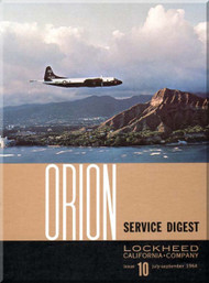 Lockheed Orion  Aircraft Service Digest  - 10 -  July September- 1964