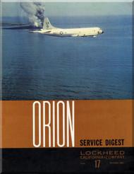 Lockheed Orion  Aircraft Service Digest  - 17 -  December -  1967