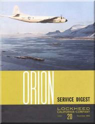 Lockheed Orion  Aircraft Service Digest  - 20 -  November  -  1968