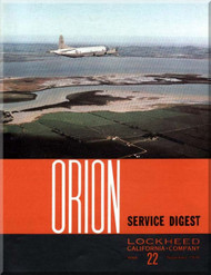 Lockheed Orion  Aircraft Service Digest  - 22 -  September -  1970