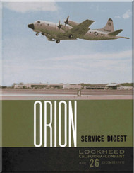 Lockheed Orion  Aircraft Service Digest  - 26 -  December -  1972