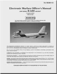 Boeing B-52 H Electronic Warfare Officer's Manual -  T.O. 1B-52H-1-13