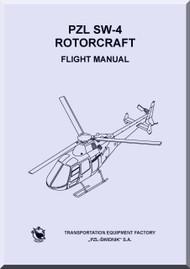 PZL SW-4  Helicopter Rotocraft Flight Manual ( English Language )