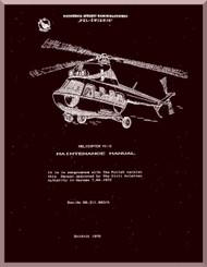 "Mil Mi-2 "" Hoplite "" Helicopter Maintenance Manual   , 1978 ( English Language )"