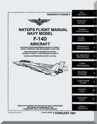 Grumman F-14 D Aircraft Flight Manual - 01-F14AAD-1 - 1997