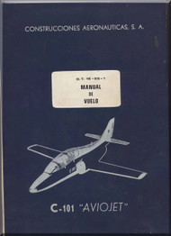 CASA C-101  Aircraft Flight Manual - ( Spanish Language )