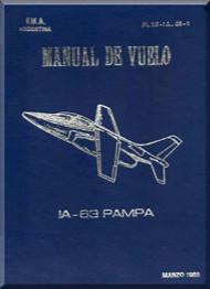 FMA IA 63 Pampa Aircraft Flight Manual - ( Spanish Language )