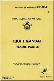 "Pilatus PC-6 "" Porter ""  Aircraft  Flight  Manual -  ( English Language )"