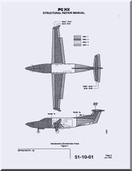 Pilatus PC-12  Aircraft  Structural Repair  Manual -  ( English Language )