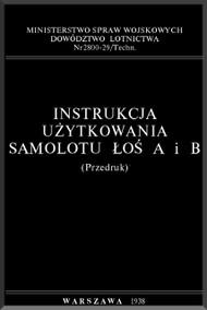 PZL P-37  Aircraft  Technical Notes  Manual -  ( Polish Language )
