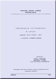 PZL Koliber   Aircraft Instruction Notebook Manual     -  ( Polish Language )