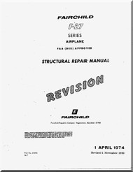 Fairchild F-27 Aircraft Structural Repair Manual - 1974