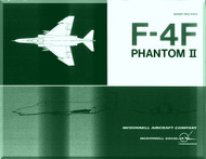 Mc Donnell Douglas  Aircraft  F- 4F Phantom II Manual - Reports No. MDC A1676 -