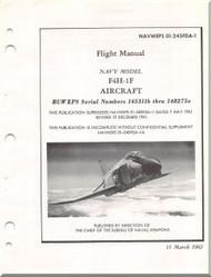 Mc Donnell Douglas  Aircraft F4H-1F Phantom II  Flight Manual - 01-245FDA-1