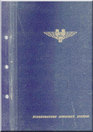 Sud Aviation Caravelle  III Aircraft SAS Airlines Flight Manual