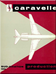 Sud Aviation Caravelle  Aircraft Technical Brochure Manual - 1963