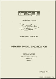 Nortd 262 C Fregate Aircraft Specification Manual