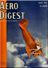 Aero Digest  Aircraft Aviation Magazines April 1937