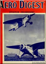Aero Digest  Aircraft Aviation Magazines April 1936