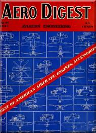 Aero Digest  Aircraft Aviation Magazines April 1935