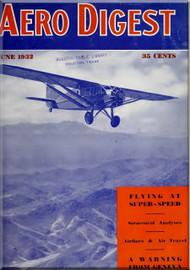 Aero Digest  Aircraft Aviation Magazines June 1932