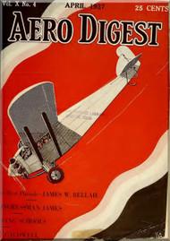 Aero Digest  Aircraft Aviation Magazines April 1927