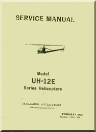 Hiller  UH-12 E Helicopter Service Manual