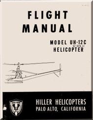 Hiller  UH-12 C Helicopter Flight  Manual