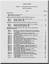 Hughes Helicopter 269 Series  Illustrated Parts Catalog Manual  ( English Manual ) , 1974