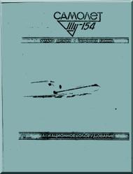 Tupolev Tu-154  B  Aircraft  Illustrated Parts Catalog Manual - 10516 pages   ( Russian  Language )