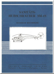 PZL SM-1S  Helicopter Rotocraft Technical Brochure  Manual ( Polish Language )
