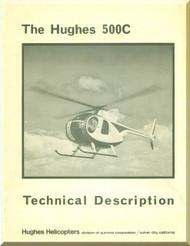 Hughes 500C Helicopter Technical Description Manual