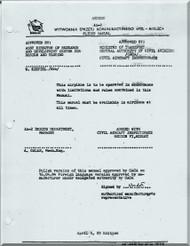 Antonov / PZL An-2  Aircraft Flight Manual  ( English  Language ), 1983