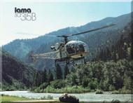 Sud Aviation / Aerospatiale  SA.315 B Helicopter Technical Brochure Manual