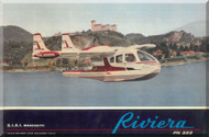 SIAI Marchetti / Nardi FN 333 Riviera  Aircraft Technical Brochure   Manual,