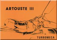 Turbomeca Artouste  IIII Aircraft Engine   Technial Brochure  Manual ( English and French  Language )
