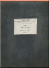 Pilatus P-2 Aircraft  Operating Flight  Manual -  ( French   Language ) - Avion  P2--05/06  .  Manuel du Pilote