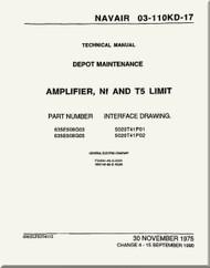 Amplifier, NF and T5 Limit Depot Maintenance  Manual NAVAIR 03-110KD-17