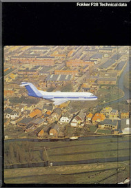 Fokker F-28  Technical Data Brochure  Manual -  ( English Language ) , 1979