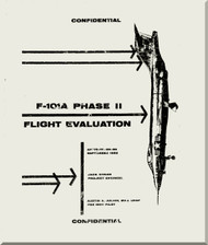 Mc Donnell Douglas F-101 A   Aircraft Phase II Flight Evaluation  Manual   -