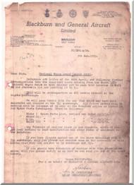 Bristol Siddeley  Cirrus Major 2 & 3 Aircraft Engine Spare Parts Price List  Manual