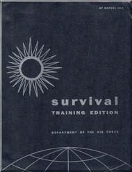 Aircraft  Survival Training Edition Manual  - . AFM 64-3