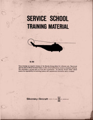 Sikorsky  S.55 Helicopter  Service School Training  Manual   , 1957