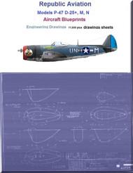 Aircraft Blueprints Engineering Drawings