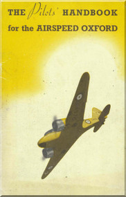 Airspeed OXFORD  Aircraft Airplanes Pilot's Handbook Manual