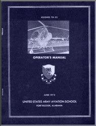Hughes Helicopter TH-55   Operator 's  Manual -  -1973