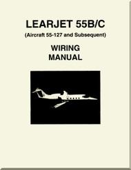 Learjet 55  B / C Series Aircraft Wiring   Manual
