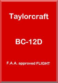 Taylorcraft   BC12 D  Aircraft Flight  Manual ,